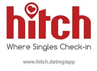 Hitch Dating App creative logo